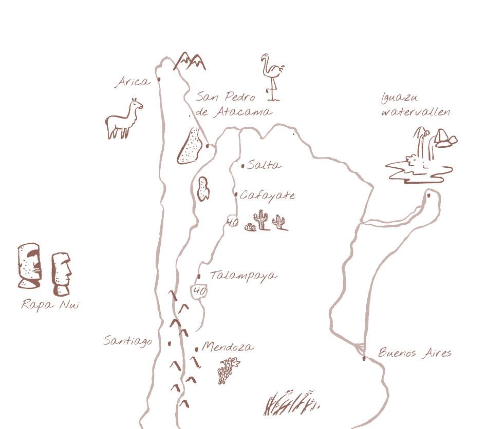 Argentinië Chili Noord