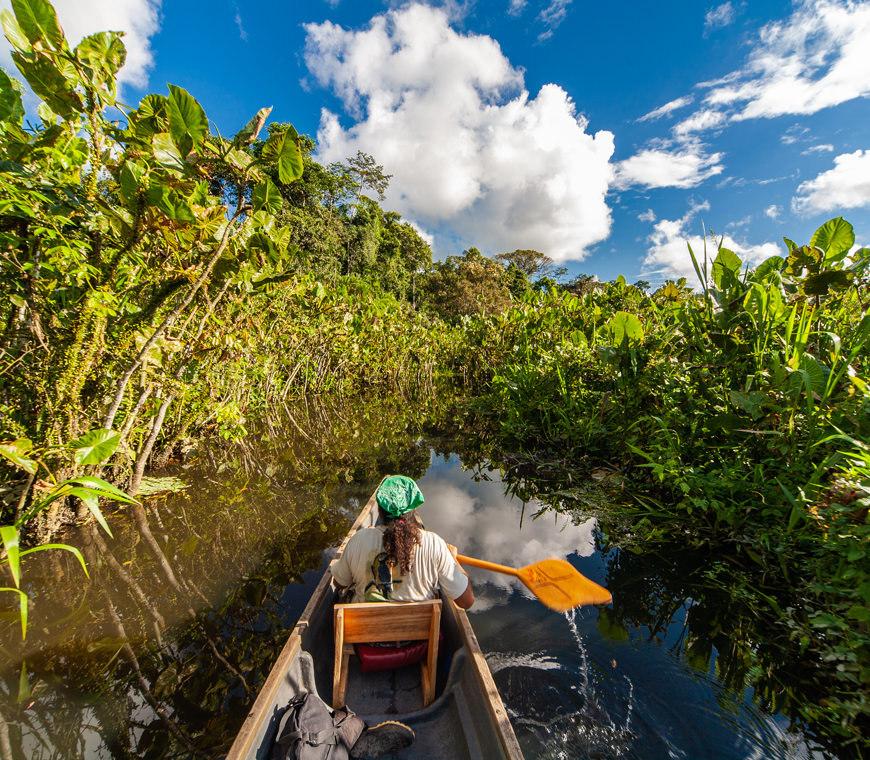 Ecuador Reizen Amazone Yasuni Lodge9