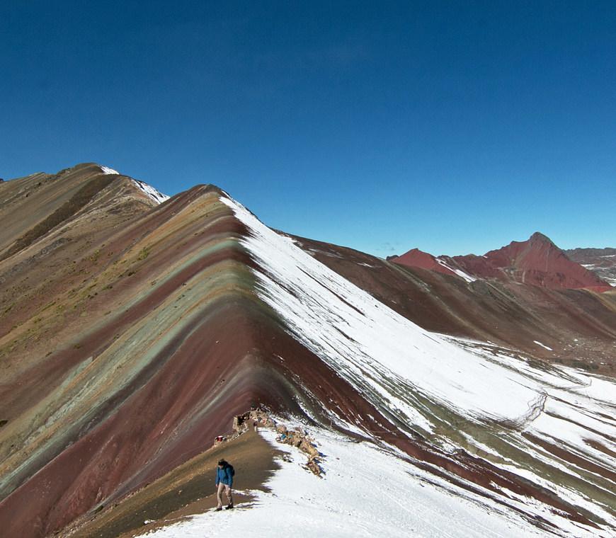 Atacama Peru Reizen Regenboogberg