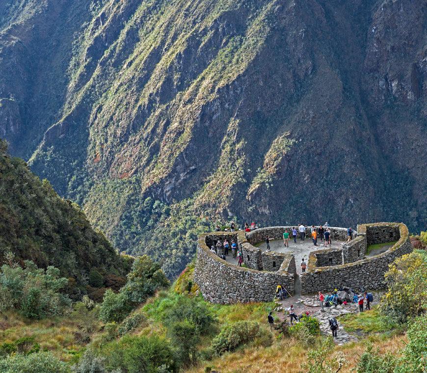 Incatrail Runkurakay Day 2 Peru Reizen