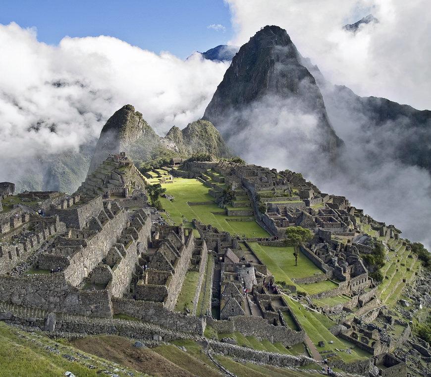 Machupicchu Peru Reizen