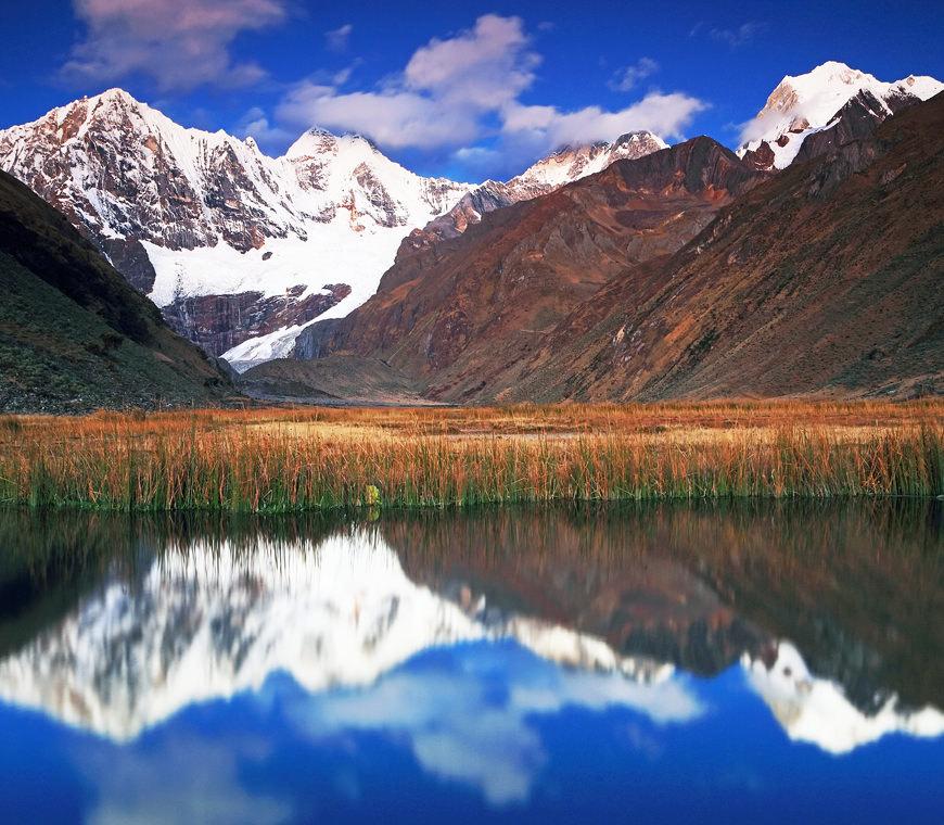 Peru Reizen Huayhuash Jahuacocha