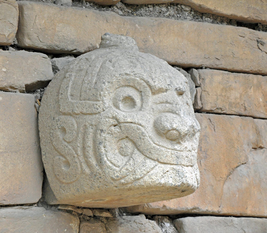 Chavin De Huantar Peru Reizen