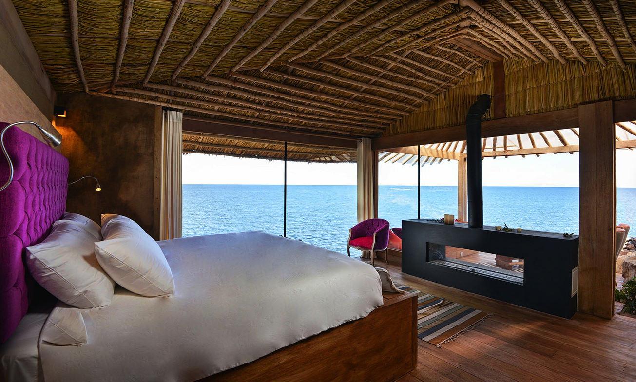 Peru Reizen Titicaca Meer Hotel Privé Villa2