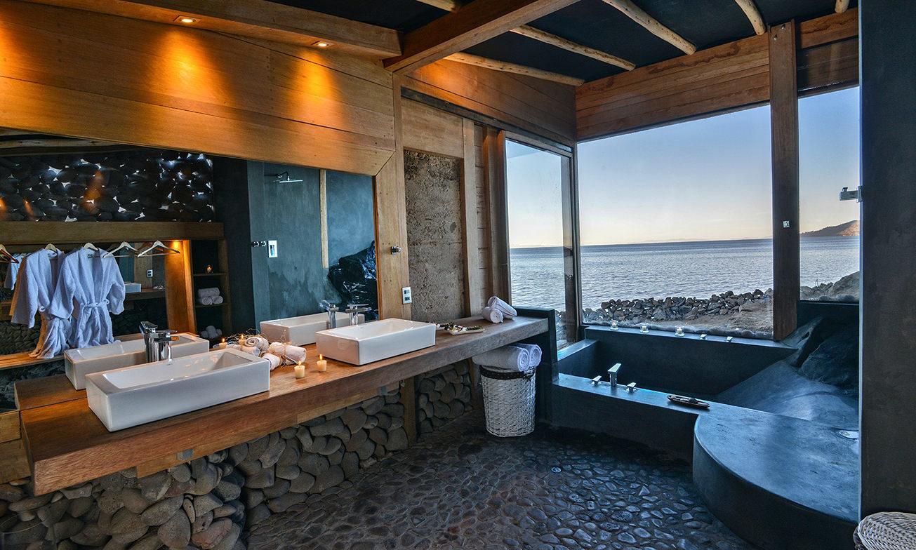 Peru Reizen Titicaca Meer Hotel Privé Villa3