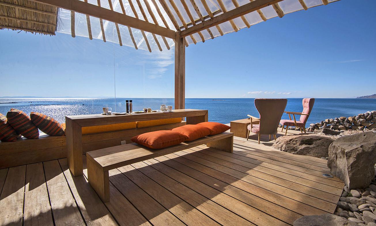 Peru Reizen Titicaca Meer Hotel Privé Villa8