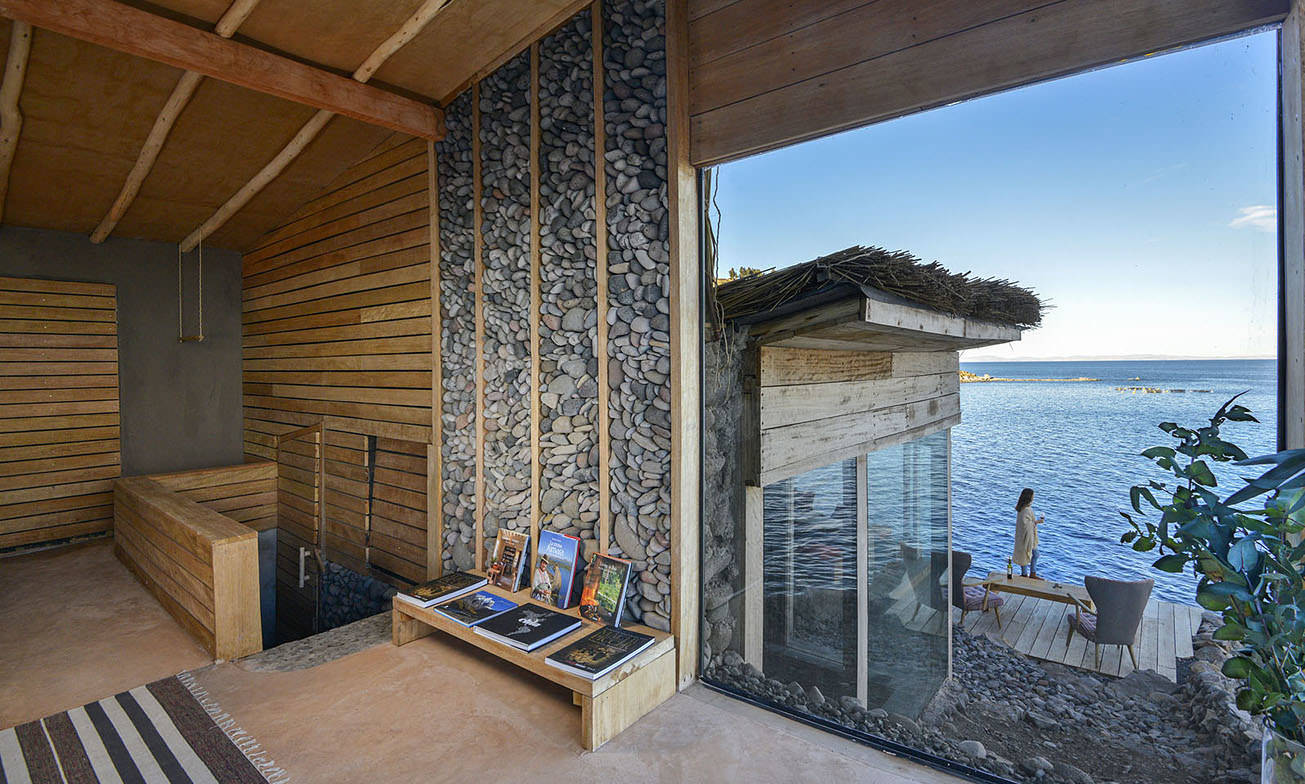 Peru Reizen Titicaca Meer Hotel Privé Villa9