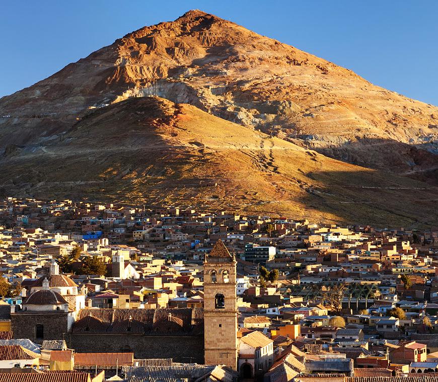 Atacama Bolivie Reizen Potosi Cerro Ricojpg