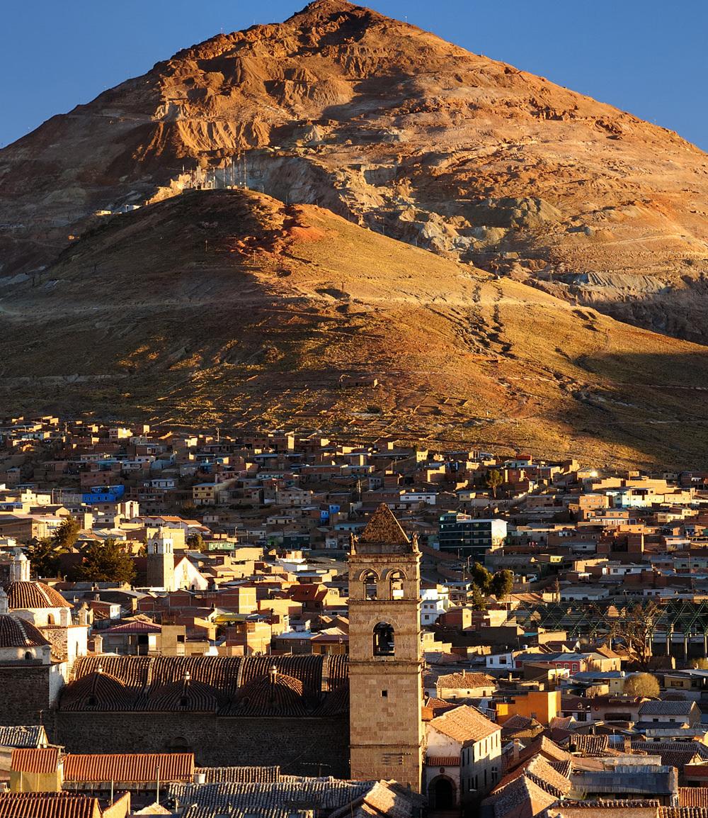 Bolivie Reizen Potosi