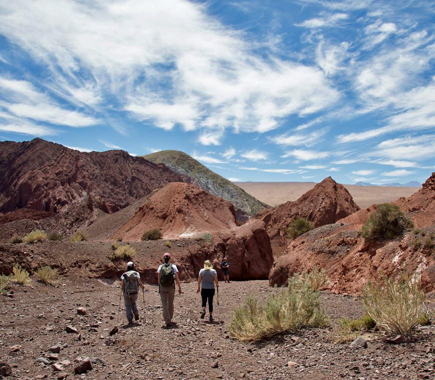 Atacama Chili Reis Regenboog Vallei