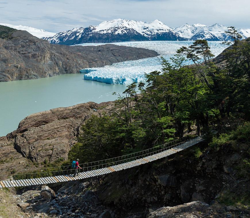 Grey Gletsjer Torres Del Paine Atacama Chili