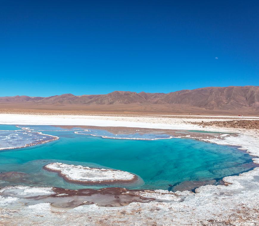Meren Chili Atacama Woestijn
