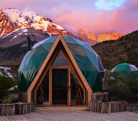 Patagonie Reizen Ecocamp Tegel