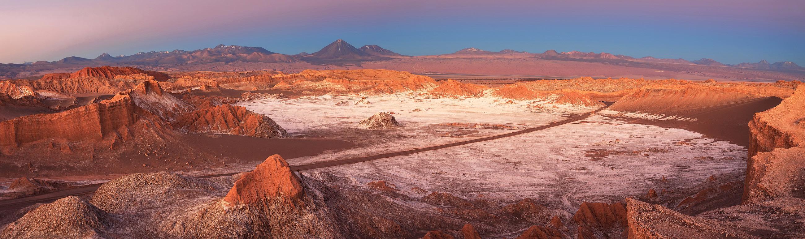 Chili Reizen Atacama Woestijn Maanvalei