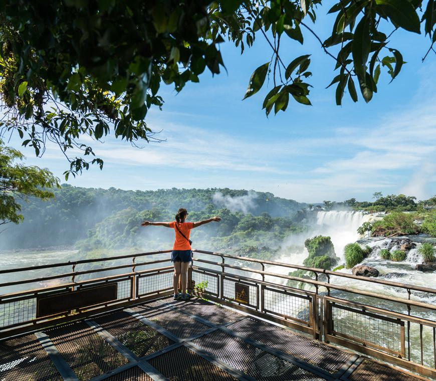 Argentinie Reizen Iguazufalls