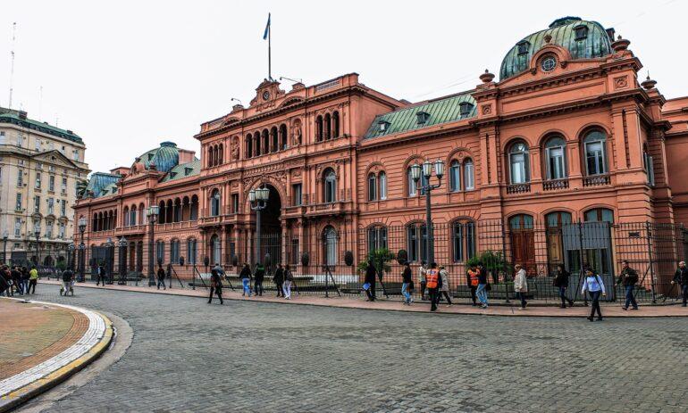 Argentinie Reizen Buenos Aires Casa Rosada 907344
